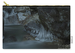 River Stalactites Carry-all Pouch by Rod Wiens