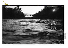Carry-all Pouch featuring the photograph Rivers Edge by Michael Krek