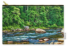 Riverview Carry-all Pouch by Kenny Francis