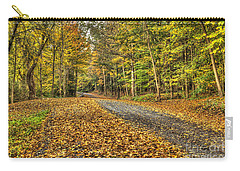 Road Into Woods Carry-all Pouch