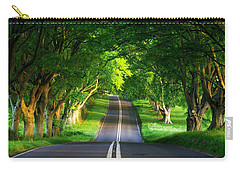 Carry-all Pouch featuring the digital art Road Pictures by Marvin Blaine