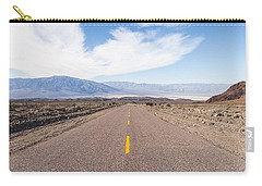 Road To Death Valley Carry-all Pouch by Muhie Kanawati
