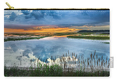 Road To Lieutenant Island Carry-all Pouch by Bill Wakeley