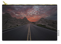 Road To Nowhere Badlands Carry-all Pouch