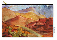 Road To Nowhere Carry-all Pouch by Ellen Levinson