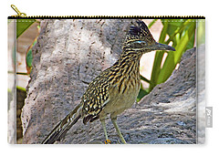 Roadrunner Carry-all Pouch by Walter Herrit