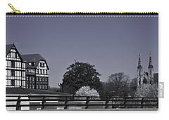 Roanoke Virginia Springtime Cityscape Bw Carry-all Pouch