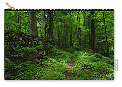 Carry-all Pouch featuring the photograph Roaring Fork Trail by Debbie Green
