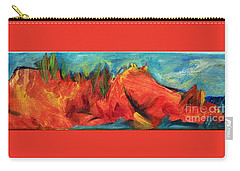 Roasted Rock Coast Carry-all Pouch by Elizabeth Fontaine-Barr