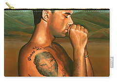 Robbie Williams 2 Carry-all Pouch by Paul Meijering