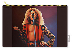 Robert Plant Of Led Zeppelin Carry-all Pouch by Paul Meijering