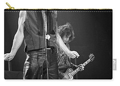 Robert Plant And Jimmy Page Carry-all Pouch by Timothy Bischoff