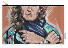 Robert Plant Carry-all Pouch by Melanie D