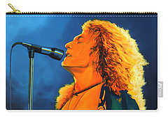 Robert Plant Carry-all Pouch by Paul Meijering