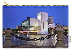 Carry-all Pouch featuring the photograph Rock And Roll Hall Of Fame - Cleveland Ohio - 1 by Mark Madere