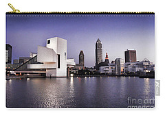 Carry-all Pouch featuring the photograph Rock And Roll Hall Of Fame - Cleveland Ohio - 2 by Mark Madere
