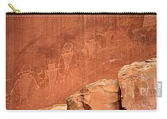 Rock Art Carry-all Pouch by Aidan Moran