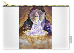 Rock Cave Avalokitesvara  Carry-all Pouch by Lanjee Chee