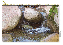Carry-all Pouch featuring the photograph Rock Creek by Kerri Mortenson
