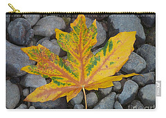 Rock Creek Leaf Carry-all Pouch by Chalet Roome-Rigdon