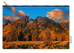 Carry-all Pouch featuring the photograph Rock Of Ages Panorama by Greg Norrell
