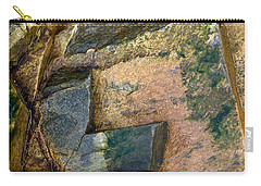 Carry-all Pouch featuring the photograph Rock On by Liz  Alderdice