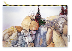 Rock Patterns Turnagain Carry-all Pouch by Teresa Ascone