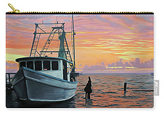 Carry-all Pouch featuring the painting Rockport Sunrise by Jimmie Bartlett