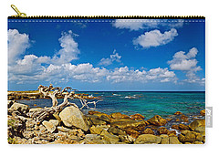 Rocks At The Coast, Aruba Carry-all Pouch