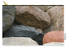 Rocks In Various Colors Carry-all Pouch