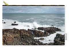 Rocky Coast Carry-all Pouch by Catherine Gagne