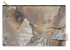 Carry-all Pouch featuring the photograph Rocky Edges by Jason Williamson