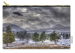 Rocky Mountain Snow Storm Estes Park Colorado Carry-all Pouch