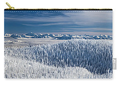 Rocky Mountain Winter Carry-all Pouch by Aaron Aldrich
