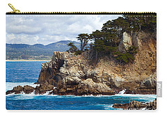 Rocky Outcropping At Point Lobos Carry-all Pouch