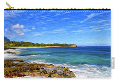 Rocky Shore Near Poipu Carry-all Pouch