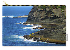 Carry-all Pouch featuring the photograph Rocky Shores by Tikvah's Hope