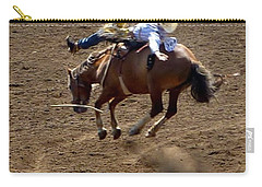 Rodeo Time Bucking Bronco 2 Carry-all Pouch
