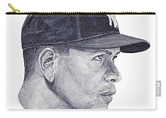 Carry-all Pouch featuring the painting Rodriguez by Tamir Barkan