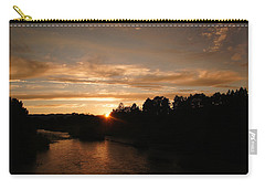 Rogue August Sunset Carry-all Pouch by Mick Anderson
