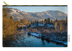 Rogue River Winter Carry-all Pouch by Mick Anderson