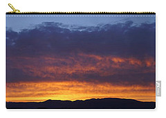 Rogue Valley Sunset Panoramic Carry-all Pouch
