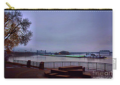 Carry-all Pouch featuring the photograph Rollin Onna River by Robert McCubbin