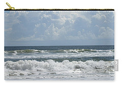 Rolling Clouds And Waves Carry-all Pouch