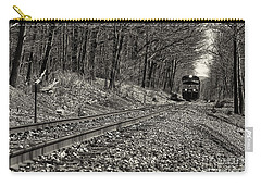 Rolling Down The Tracks Carry-all Pouch