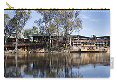 Rolling On The River Carry-all Pouch by Linda Lees