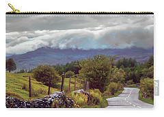 Rolling Storm Clouds Down Cumbrian Hills Carry-all Pouch