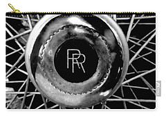 Rolls Royce - Black And White Carry-all Pouch