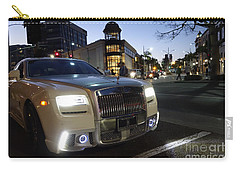 Rolls Royce Parked At The Bottom Of Rodeo Drive Carry-all Pouch