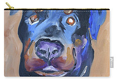 Carry-all Pouch featuring the painting Roman by Donna Tuten